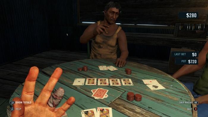 Far Cry 3 Poker